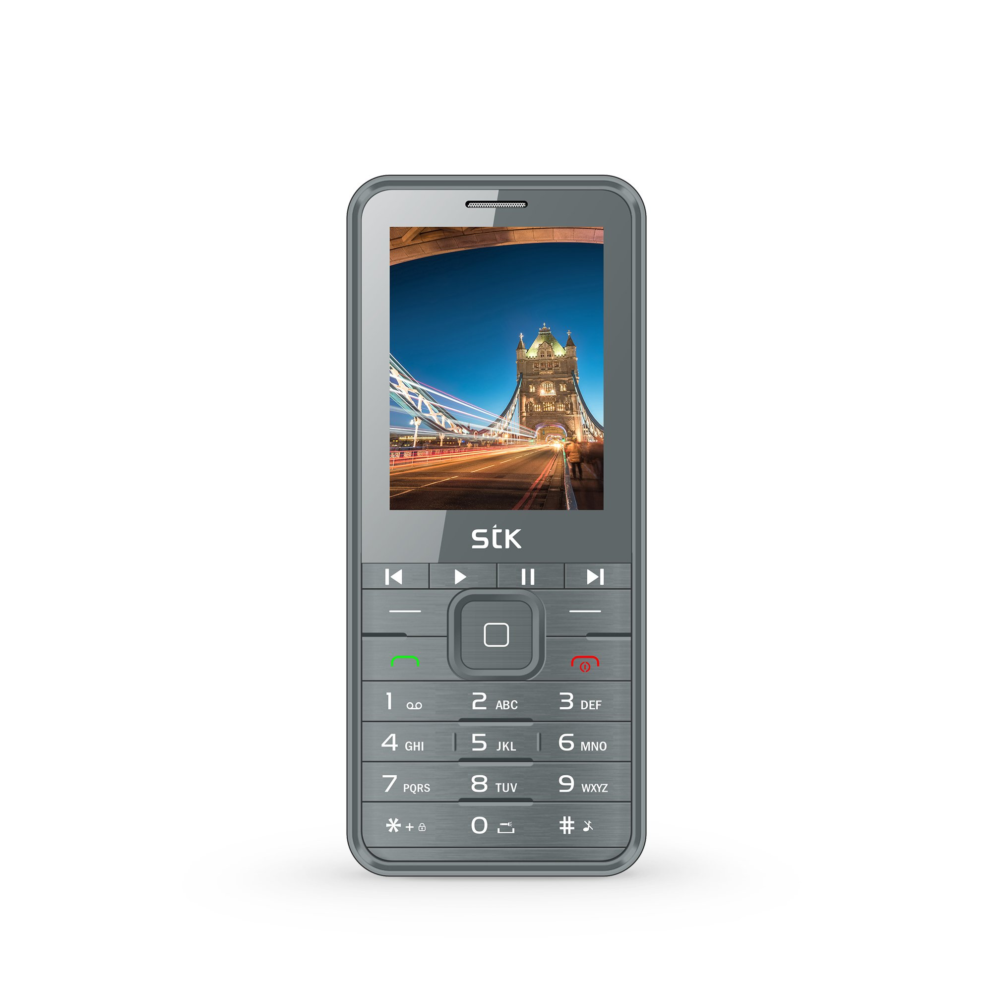 M Phone Plus by STK (Silver)